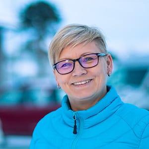 Kontor og butikksjef Marit Inga Sara Pettersen